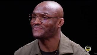 Kamaru Usman Said His Favorite Fight Was When He Broke Colby Covington's Jaw