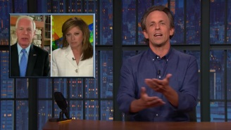 Seth Meyers Tears Into 'Unhinged Conspiracy Theorist' Maria Bartiromo For, Well, Spreading Unhinged Conspiracy Theories About The January 6th Insurrection