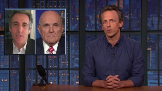 Seth Meyers Roasted Rudy Giuliani For His Now-Infamous Ukraine Phone Call