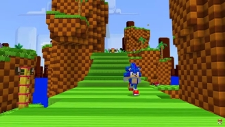 'Minecraft' Is Getting An Adorable 'Sonic The Hedgehog' DLC
