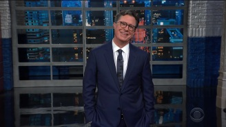Stephen Colbert Is Shocked That Trump Wanted Late-Night Hosts Targeted — And Annoyed That He Wasn't Called Out By Name