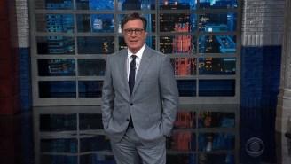 Stephen Colbert Is Amused That 'Creme De La Crazy' Marjorie Taylor Greene And Matt Gaetz Want To Be On Pelosi's Jan. 6th Panel