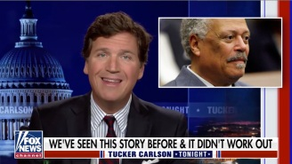 Tucker Carlson Managed To Outdo Himself Once Again By Describing COVID Safety Protocols As 'Medical Jim Crow'