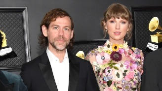 Taylor Swift 'Can't Believe' She Gets To Work With Aaron Dessner