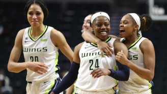 Arike Ogunbowale's Buzzer-Beating Three Gave The Wings A Win Over The Storm
