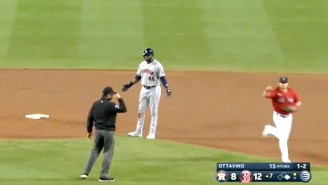 The Red Sox Turned A Very Weird Double Play On The Astros, Who Apparently Forgot What A Ground Ball Looks Like