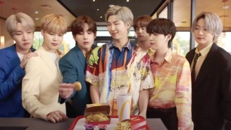 An 'Among Us'-Shaped Chicken McNugget From The BTS Meal At McDonald's Is Going For $100,000 on eBay