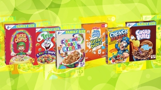 A Very Serious Ranking Of Sugary Breakfast Cereals, With And Without Milk