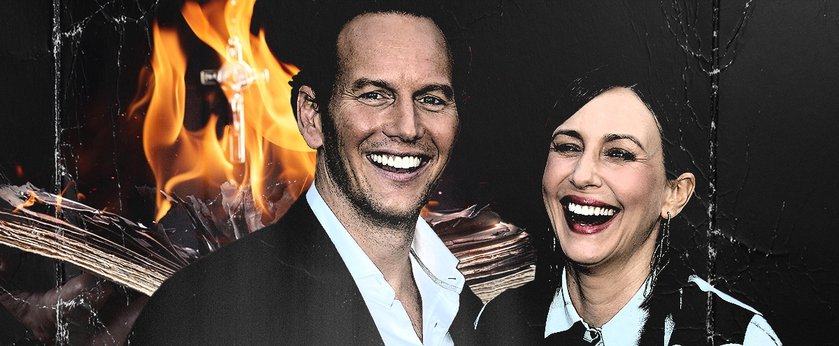 A Delightfully Weird Conversation With Patrick Wilson And Vera Farmiga About 'The Conjuring: The Devil Made Me Do It'