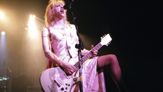 Courtney Love Slammed Olivia Rodrigo For Copying Her 'Live Through This' Album Cover