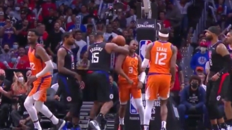 Chris Paul Sold A DeMarcus Cousins Elbow Like The Rock Sold A Stone Cold Stunner