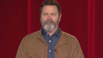 Nick Offerman Was Reduced To A 'Quivering Puddle Of A Man' While Saying Goodbye To Conan's Show