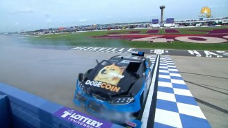 The Dogecoin Car Didn't Fare Very Well In Its NASCAR Race Appearance In Nashville