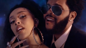 Doja Cat And The Weeknd's Majestic Video For 'You Right' Welcomes The World To 'Planet Her'