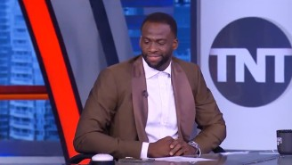 Draymond Green And Shaq Had Fun With Charles Barkley's 'Guarantee' Button With Chuck Out