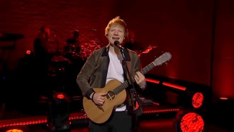 Ed Sheeran Starts His 'Late Late Show' Residency With The Debut Performance Of 'Bad Habits'