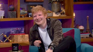 Ed Sheeran Regularly Buys Gimp Masks For Courteney Cox And Hides Them Around Her Home