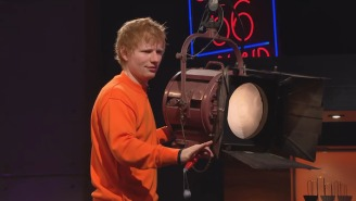 Ed Sheeran Showed Up To His 'Late Late Show' Residency Early And Annoyed James Corden