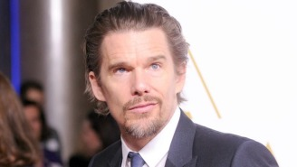 Well, Guess What: It Looks Like Ethan Hawke Is In 'Knives Out 2,' Too