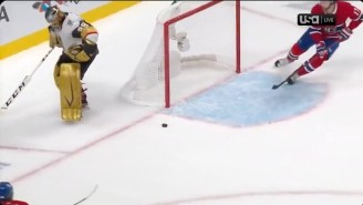 An Absolutely Ridiculous Mistake By Marc-Andre Fleury Led To Overtime In Golden Knights-Canadiens