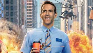 Ryan Reynolds Is A Video Game Character Who's Tasked With Saving The World In The 'Free Guy' Trailer