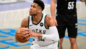 Report: The NBA Told The Nets To Stop Making Fun Of How Long It Takes Giannis Antetokounmpo To Shoot Free Throws