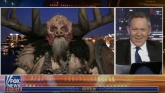 GWAR's Blothar The Berserker Brought Some Rare Moments Of Comedy To Fox News' 'Gutfeld!'