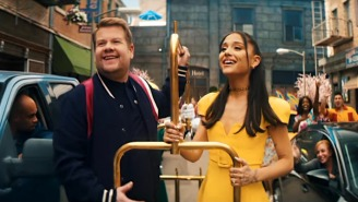 Ariana Grande Celebrates The End Of Lockdown With A 'Hairspray' Parody On 'Corden'