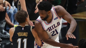 Joel Embiid Wants To Get The 'Minimal Contact' Foul Calls That Trae Young Gets From The Referees