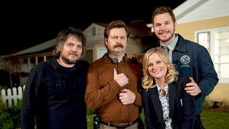 Jeff Tweedy And Nick Offerman Team Up For A Song From The 'Parks And Rec' Mouse Rat Album