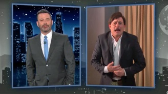 Jimmy Kimmel Had A Field Day With Mike Lindell's Awkward MAGA Event And Its Failed Fighter Jet Flyover