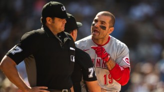 Joey Votto Saved The Day For A Young Fan After Getting Ejected In The First Inning Of Reds-Padres
