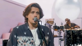 John Mayer Gives His '80s-Inspired Single 'Last Train Home' Its TV Debut On 'Kimmel'