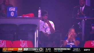 Mike Breen Had A Hysterical Call As The Camera Cut To A Deadpan Kawhi During A Big Clippers Run