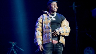 DaBaby Got Sporty For A Performance Of His New Track 'Ball If I Want To' At The BET Awards