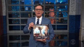 Stephen Colbert Made Clever Use Of Britney Spears Song Titles To Show Support For Her