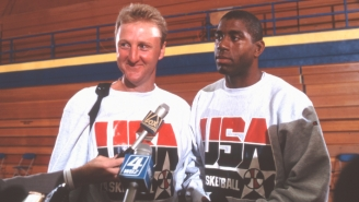 Jamal Mashburn Told A Delightful Story About Larry Bird Punishing Trash Talk During A Dream Team Practice