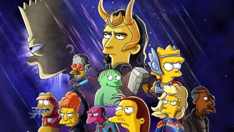 'Loki' And 'The Simpsons' Are Crossing Over For A New Disney+ Short 'The Good, The Bart, And The Loki'