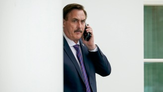 Mike Lindell's Plot To Sabotage 'The Daily Show' And Jordan Klepper Only Resulted In Him Looking Even More Batsh*t Than Usual
