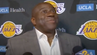 Magic Johnson Believes Rob Pelinka 'Has A Lot Of Work To Do' After The Lakers Were Bounced By The Suns