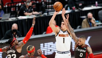 The Nuggets Advanced To The Second Round With A Game 6 Road Win Over Portland