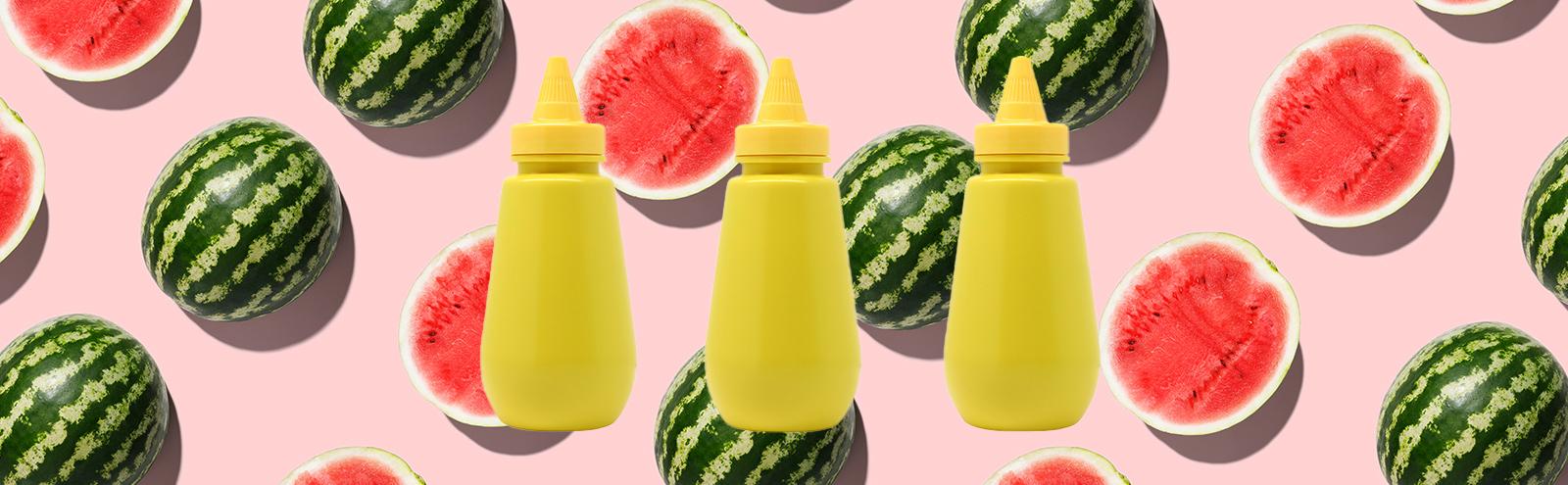 TikTok's Mustard-On-Watermelon Food Trend Is A Dark Omen For Summer '21