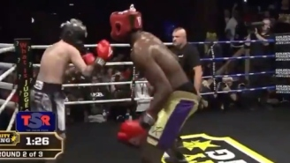Lamar Odom Knocked Out Aaron Carter In Round Two Of Another Celebrity Boxing Match
