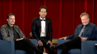 Paul Rudd Brought Back Late-Night's Greatest Recurring Bit For One Final Time On 'Conan'
