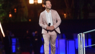 Paul Rudd (Along With His Colorful Suit) Was The MVP Of Disney's Avengers Campus Grand Opening