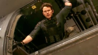 Chris Pratt And One Of The 'Doughboys' Kill Aliens From The Future In 'The Tomorrow War' Trailer