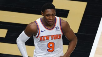 RJ Barrett Shut Down A Question About How He'll View The Season If The Knicks Lose Game 5