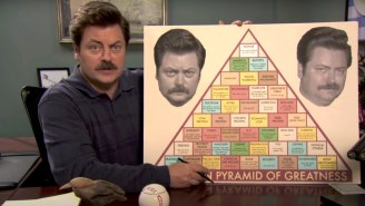 Crying In Baseball? No. Nick Offerman Starring In Amazon's 'A League Of Their Own' Series? Yes.
