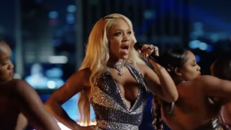 Saweetie Confirms A Release Date For 'Pretty B*tch Music' Through A Performance On 'Jimmy Kimmel Live!'