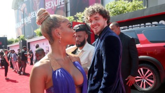 Fans Ship Saweetie And Jack Harlow After He Introduced Himself To Her On The BET Awards Red Carpet